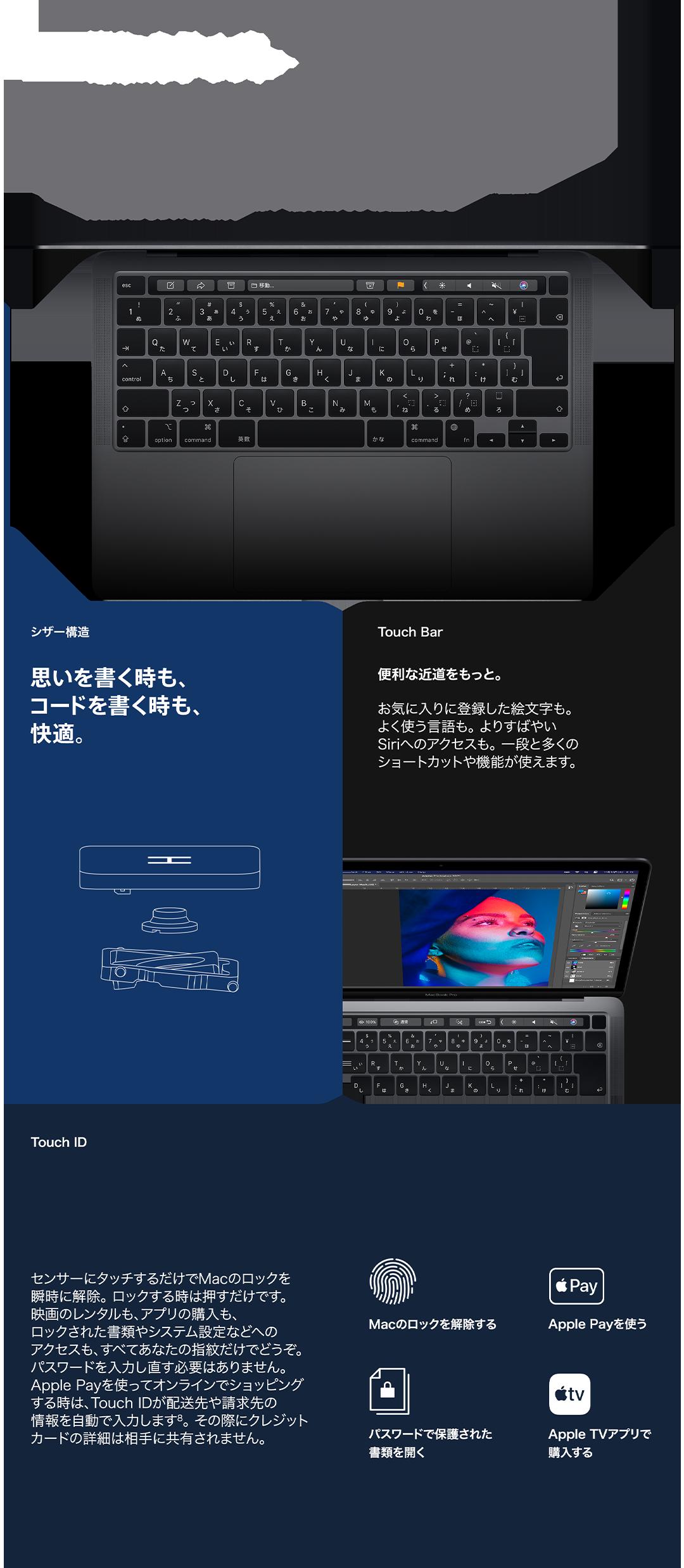 Magic Keyboard 理想のタイプ。
