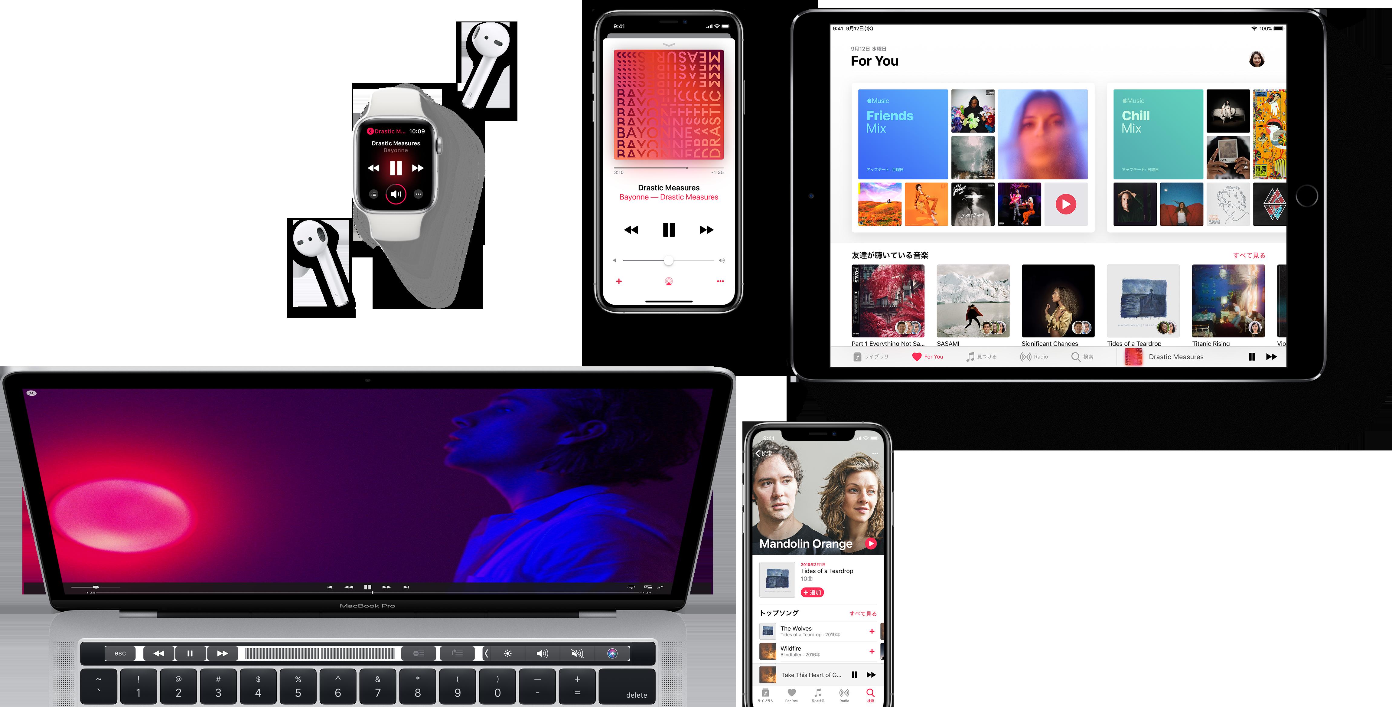 Apple Musicに対応したデバイス