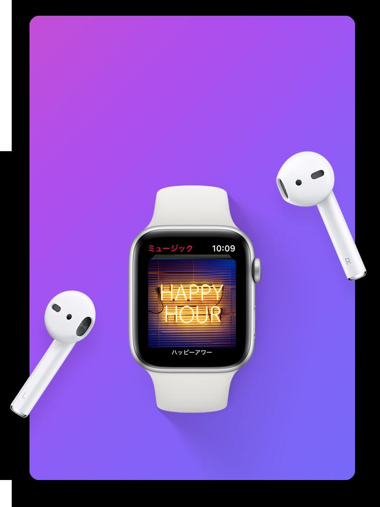 Apple WatchとAirpods