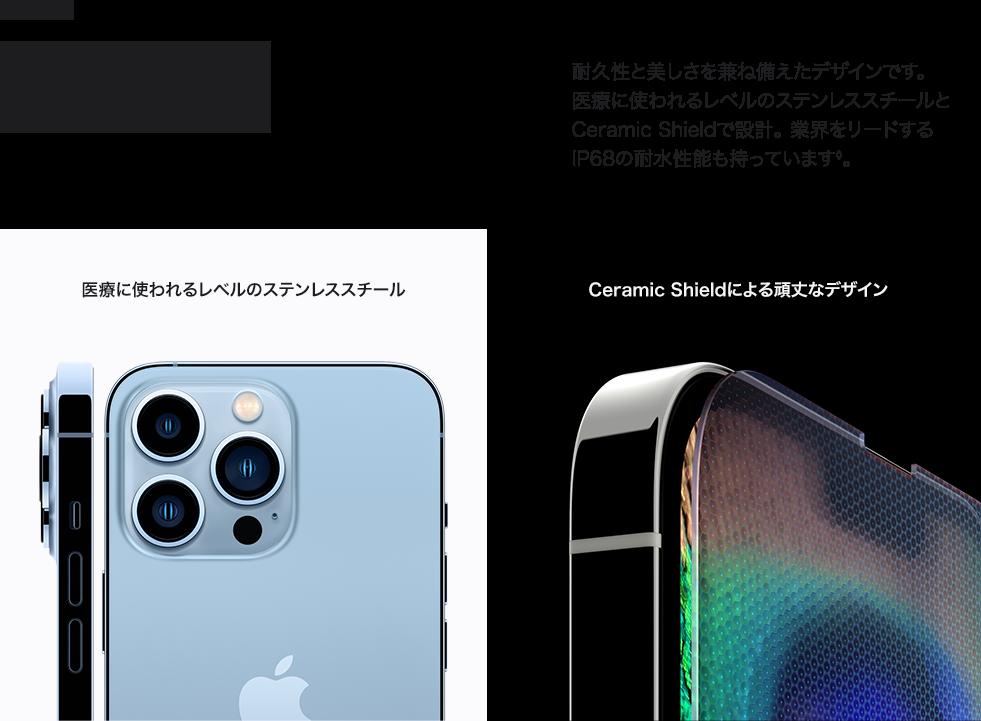 iphone13 pro デザイン