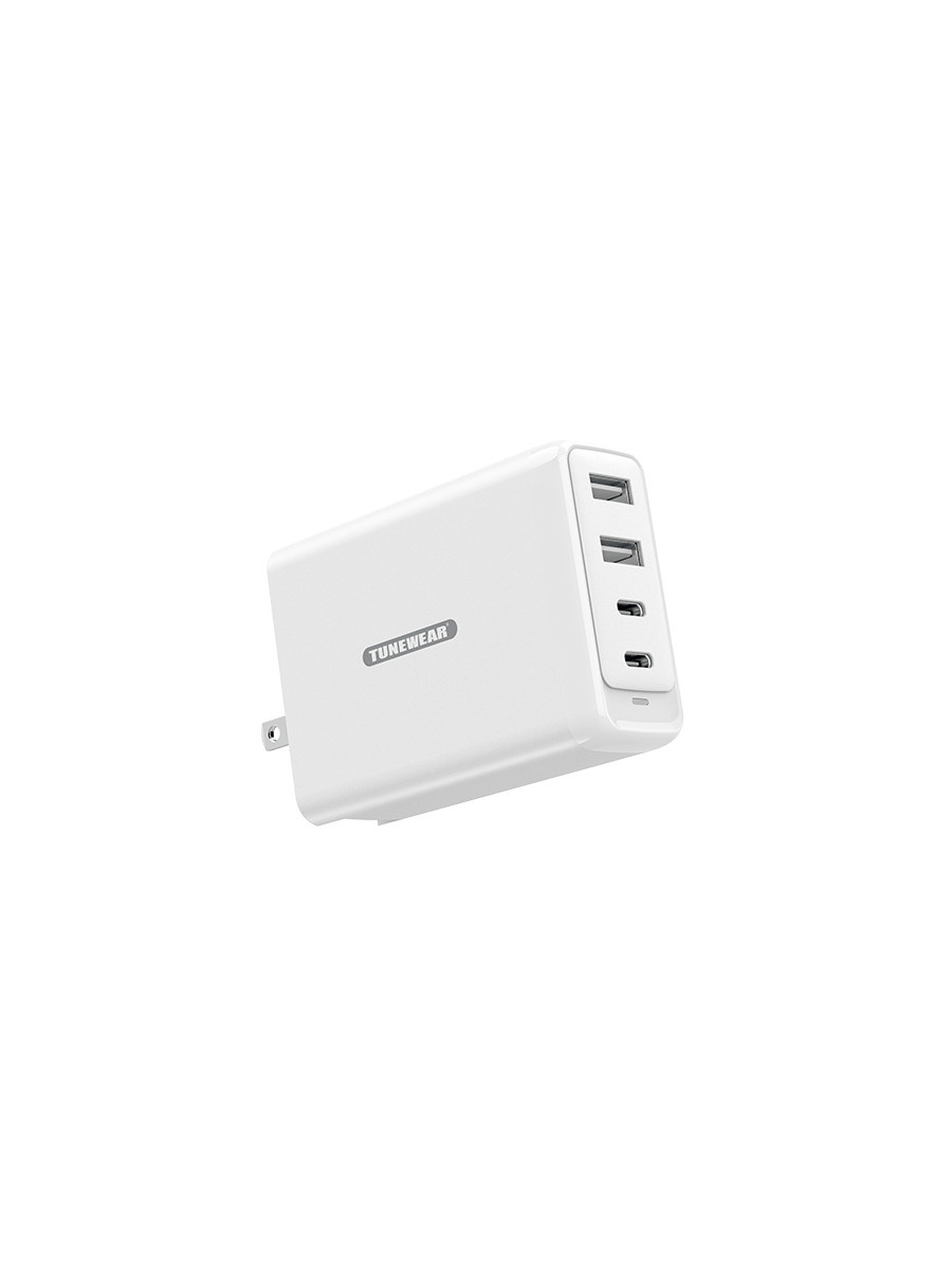 TUNEMAX 100W Gan Wall Charger 詳細画像 ホワイト 1