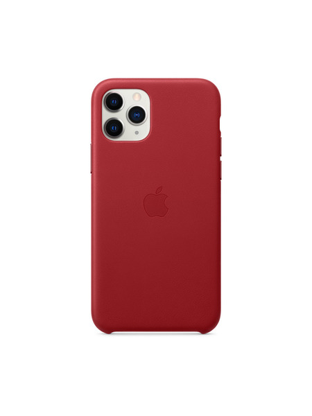 iPhone 11 Proレザーケース 詳細画像 (PRODUCT)RED 2