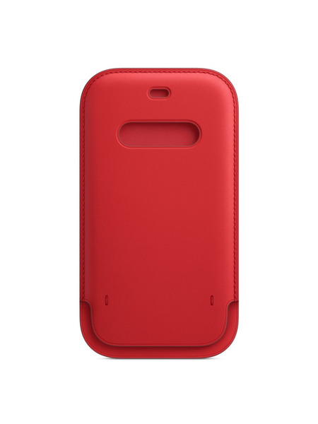 MagSafe対応iPhone 12 | 12 Proレザースリーブ 詳細画像 (PRODUCT)RED 2