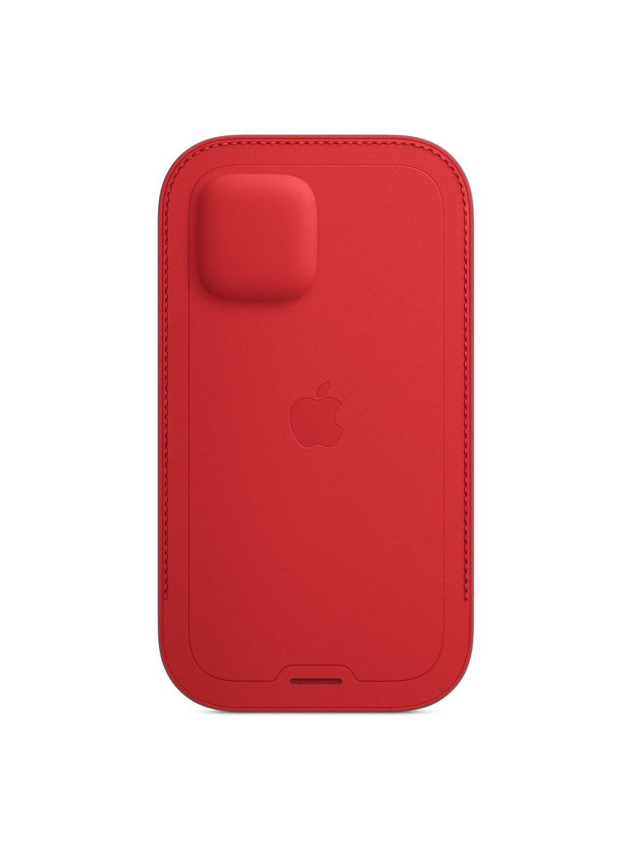 MagSafe対応iPhone 12 | 12 Proレザースリーブ 詳細画像 (PRODUCT)RED 3