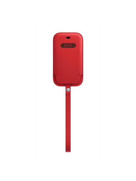 MagSafe対応iPhone 12 miniレザースリーブ 詳細画像 (PRODUCT)RED 1